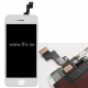 LCD Screen iPhone 5s complete, FHR Premium, dual core (2x ic), White